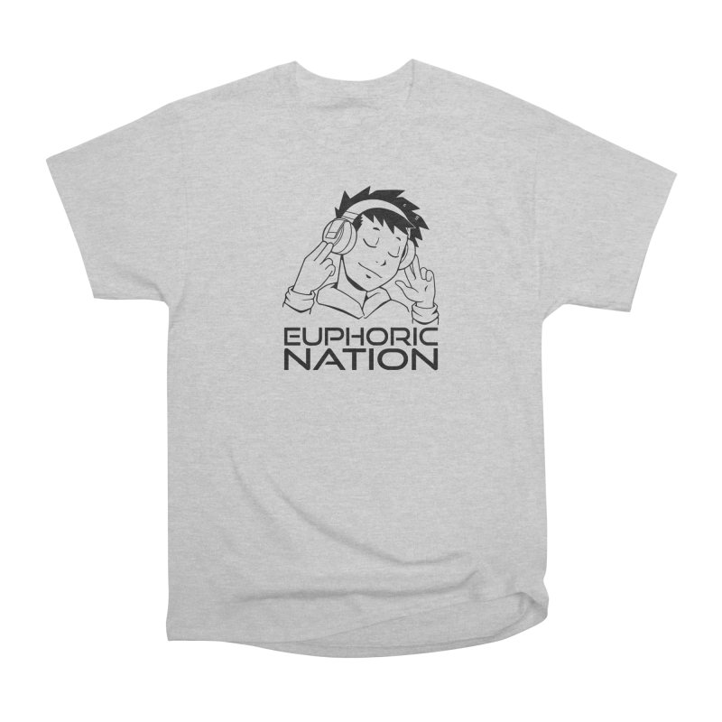 Euphoric Nation Logo Men's Heavyweight T-Shirt by Euphoric Nation's Merch!