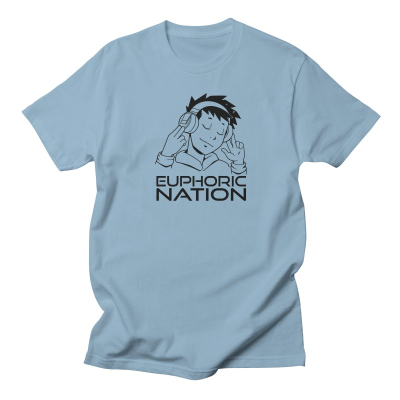 Euphoric Nation Logo Men's Regular T-Shirt by Euphoric Nation's Merch!