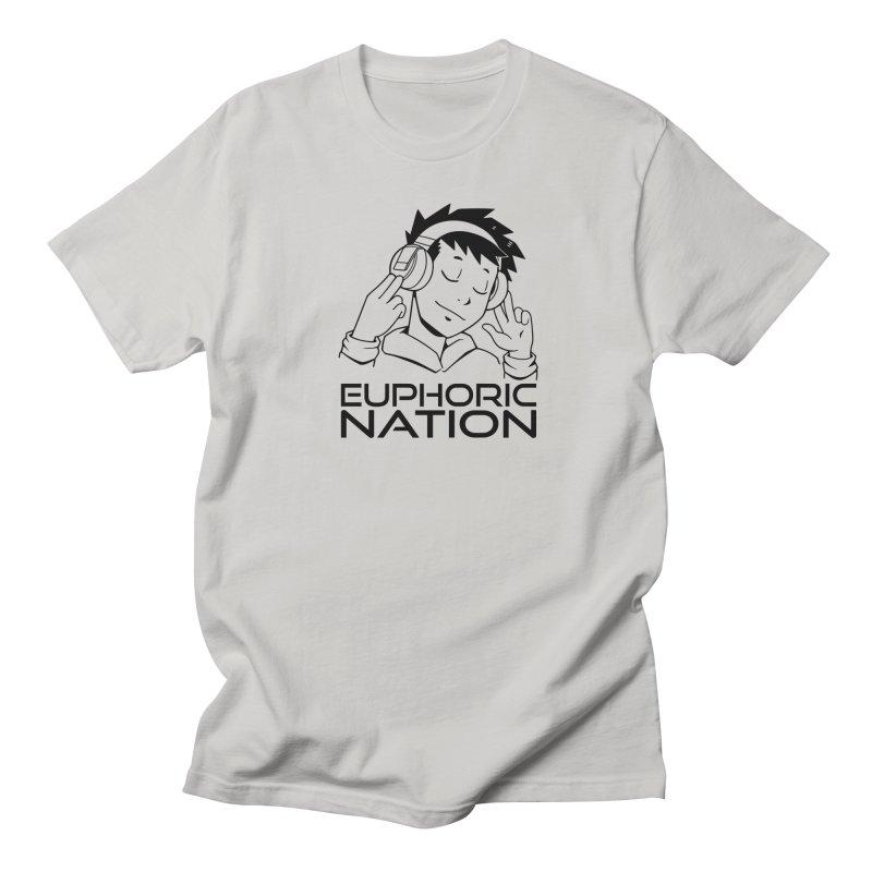Euphoric Nation Logo Men's Regular T-Shirt by Euphoric Nation's Merch!