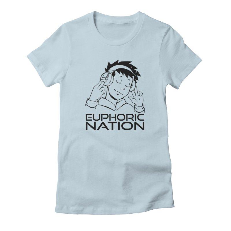 Euphoric Nation Logo Women's T-Shirt by Euphoric Nation's Merch!