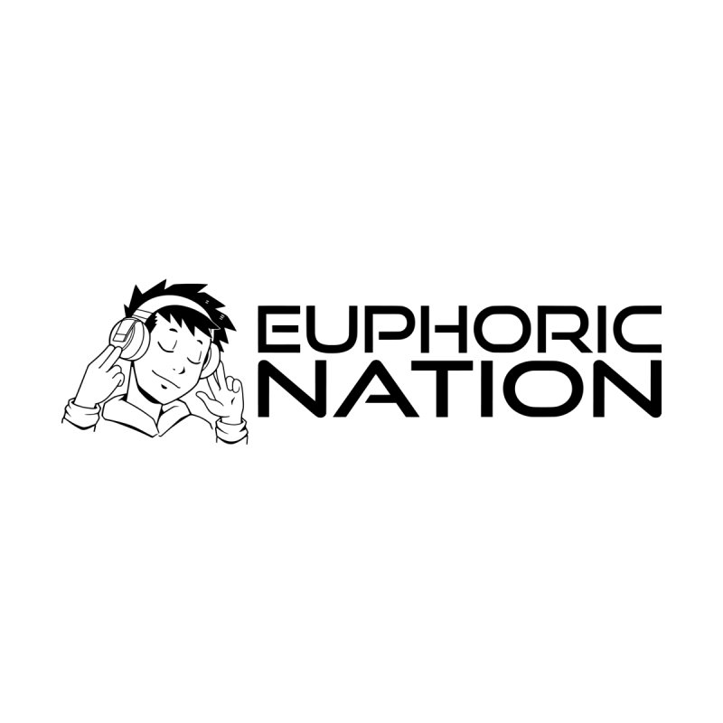 Euphoric Nation Logo - Wide Men's Zip-Up Hoody by Euphoric Nation's Merch!