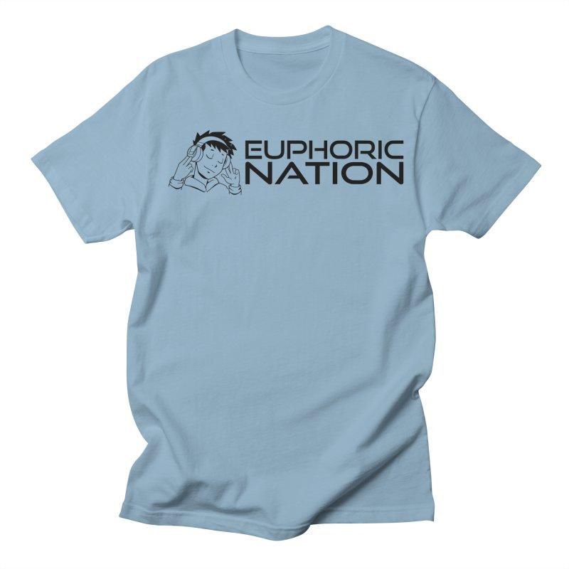 Euphoric Nation Logo - Wide Men's T-Shirt by Euphoric Nation's Merch!