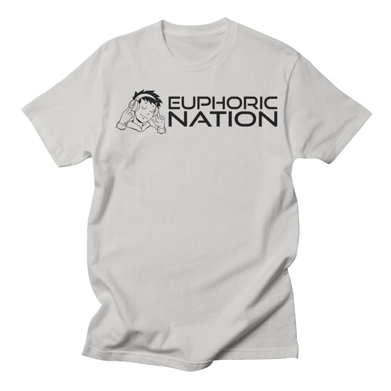 Euphoric Nation Logo - Wide Men's T-Shirt by Euphoric Nation's Merch!