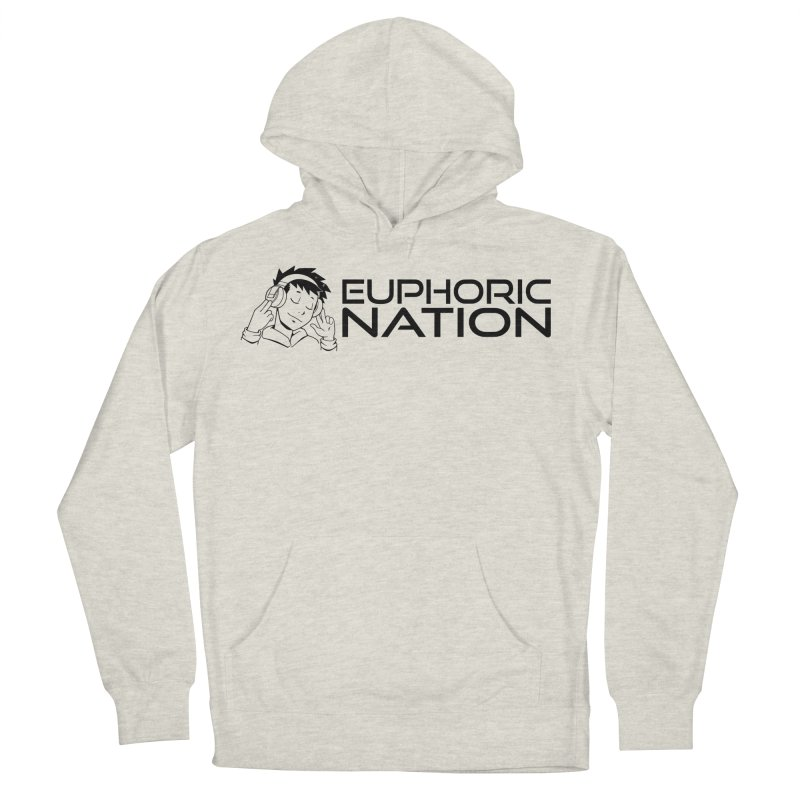 Euphoric Nation Logo - Wide Women's French Terry Pullover Hoody by Euphoric Nation's Merch!