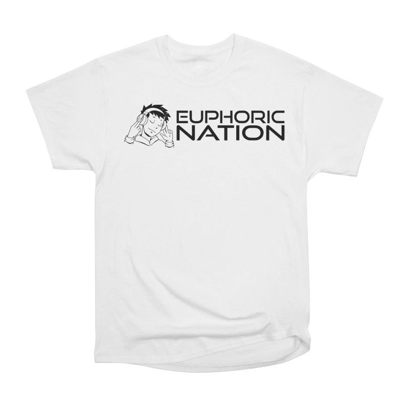 Euphoric Nation Logo - Wide Women's Heavyweight Unisex T-Shirt by Euphoric Nation's Merch!