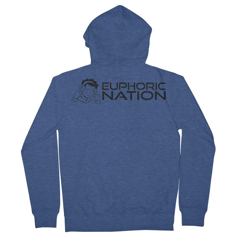 Euphoric Nation Logo - Wide Women's French Terry Zip-Up Hoody by Euphoric Nation's Merch!