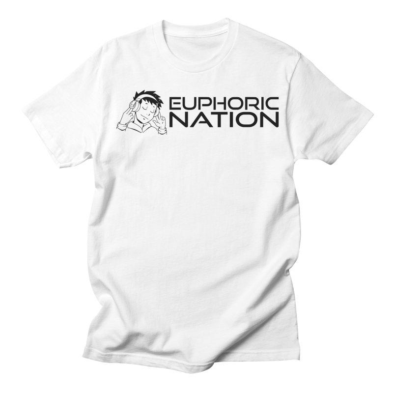 Euphoric Nation Logo - Wide Men's Regular T-Shirt by Euphoric Nation's Merch!