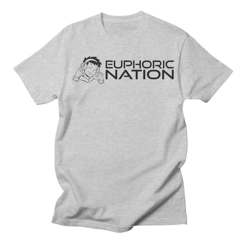 Euphoric Nation Logo - Wide Men's Regular T-Shirt by Euphoric Nation's Merch!