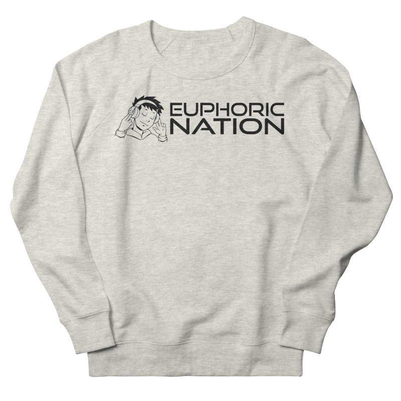 Euphoric Nation Logo - Wide Men's French Terry Sweatshirt by Euphoric Nation's Merch!