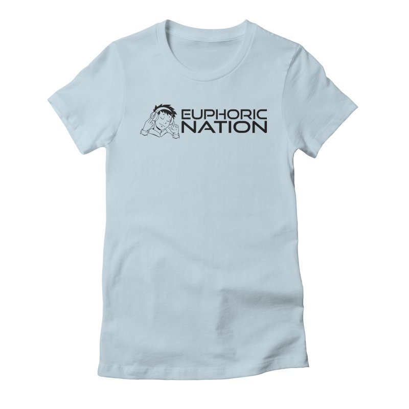 Euphoric Nation Logo - Wide Women's T-Shirt by Euphoric Nation's Merch!