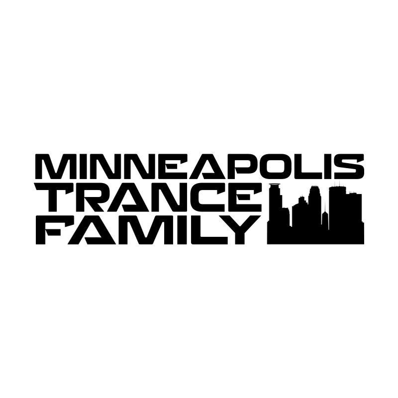 Minneapolis Trance Family Logo Men's Zip-Up Hoody by Euphoric Nation's Merch!