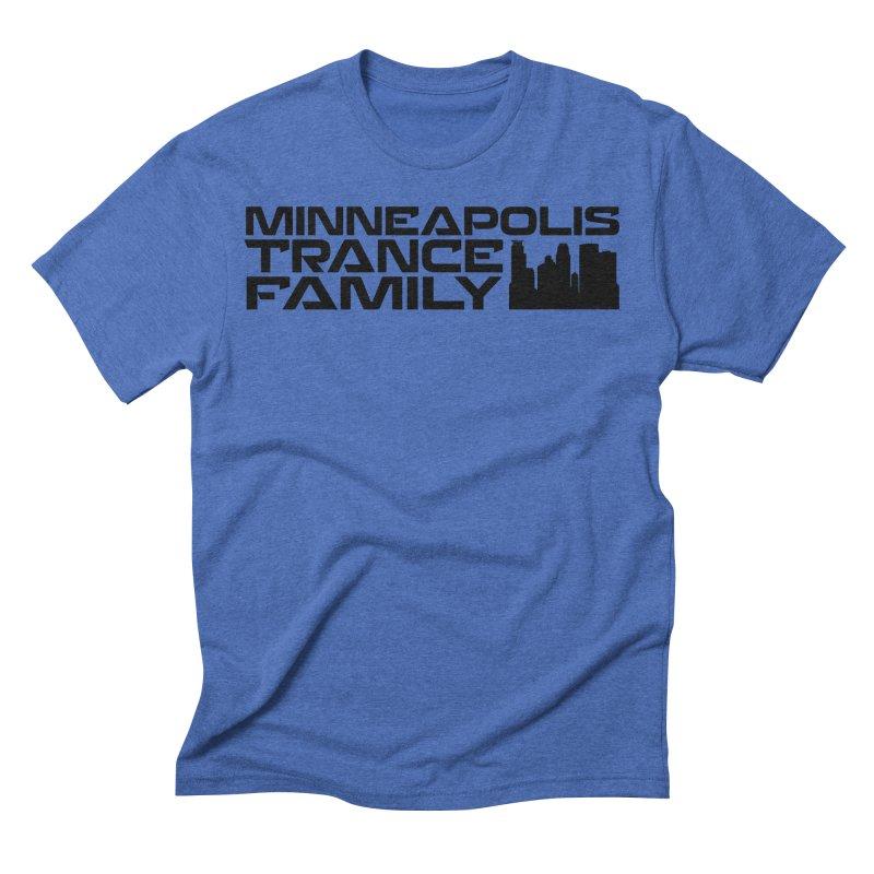 Minneapolis Trance Family Logo Men's T-Shirt by Euphoric Nation's Merch!