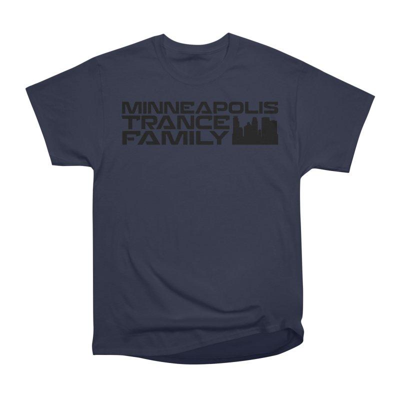 Minneapolis Trance Family Logo Men's Heavyweight T-Shirt by Euphoric Nation's Merch!