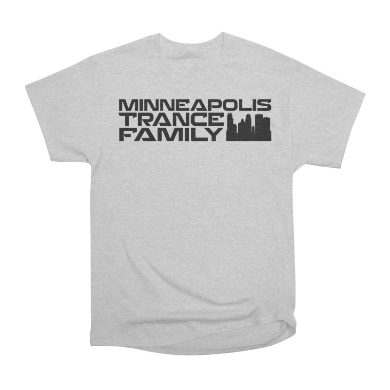 Minneapolis Trance Family Logo Women's Heavyweight Unisex T-Shirt by Euphoric Nation's Merch!