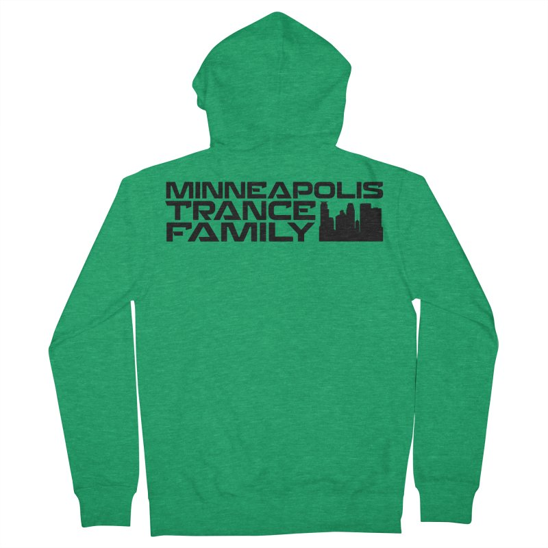 Minneapolis Trance Family Logo Women's Zip-Up Hoody by Euphoric Nation's Merch!