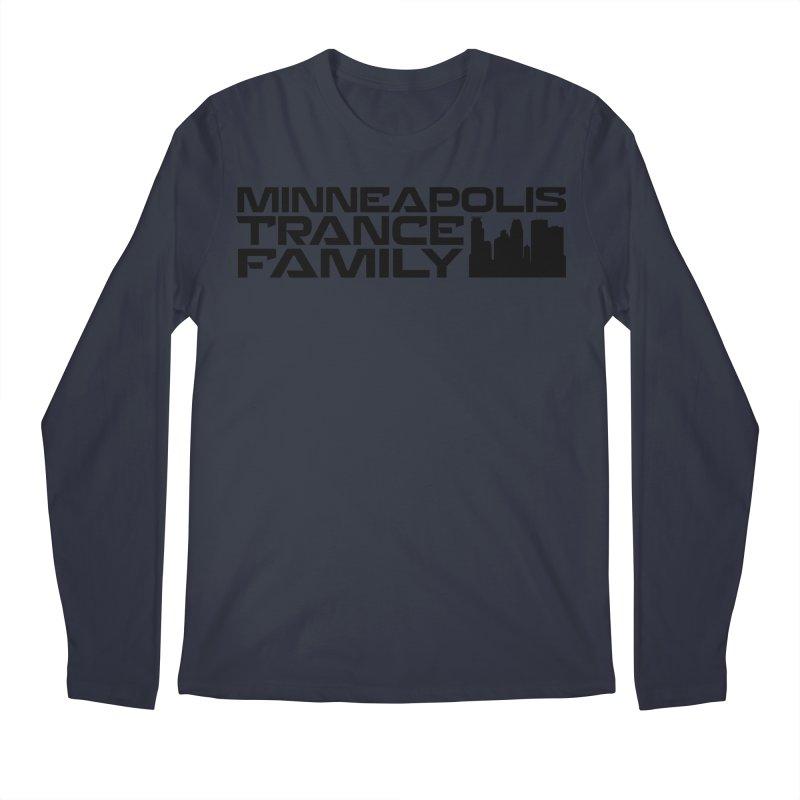 Minneapolis Trance Family Logo Men's Longsleeve T-Shirt by Euphoric Nation's Merch!
