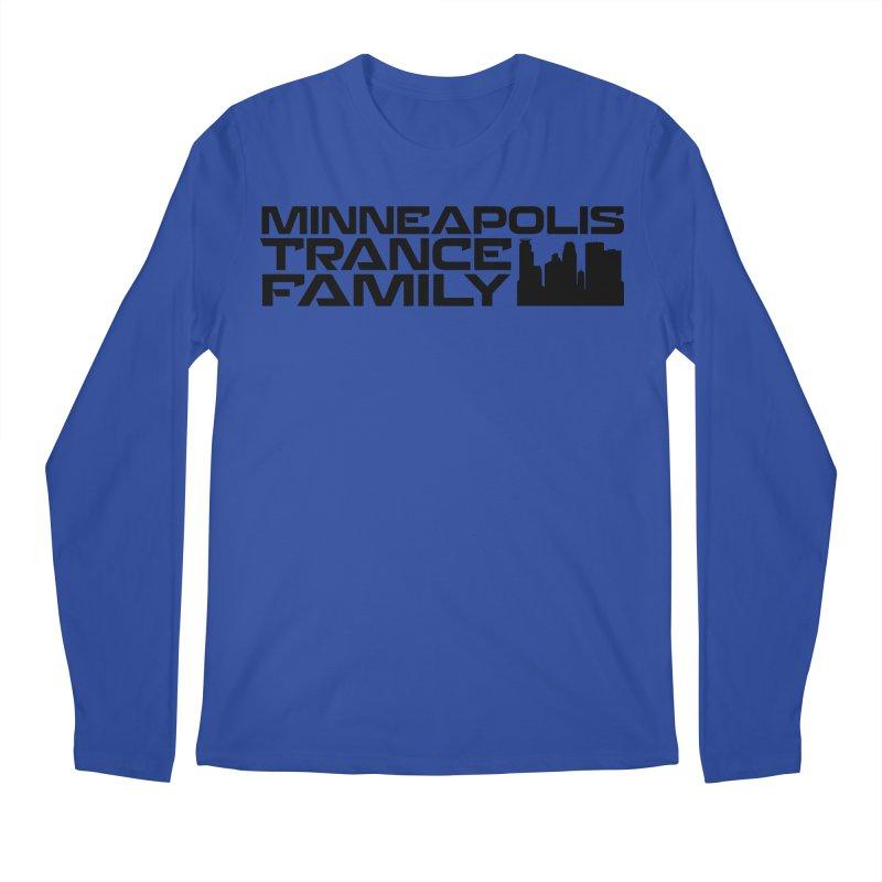 Minneapolis Trance Family Logo Men's Regular Longsleeve T-Shirt by Euphoric Nation's Merch!