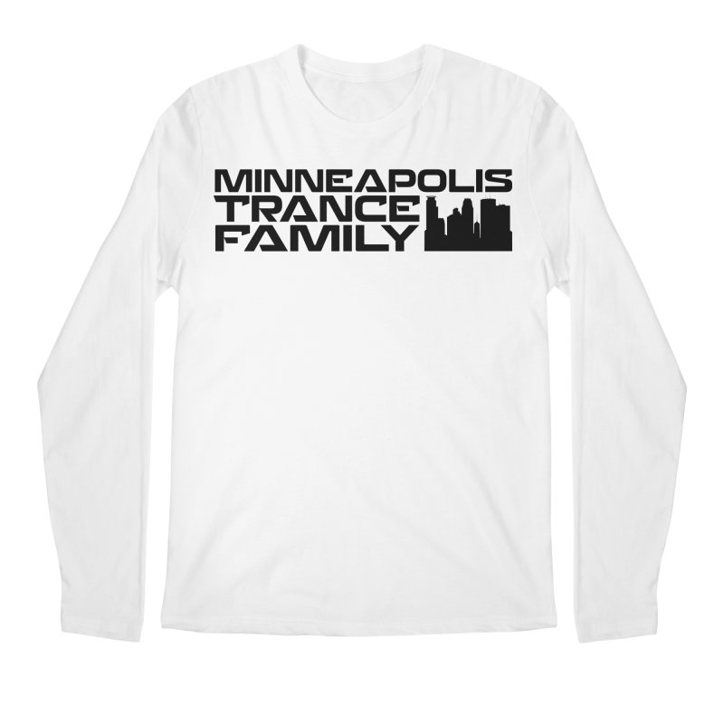 Minneapolis Trance Family Logo Men's Longsleeve T-Shirt by Euphoric Nation's Merch!