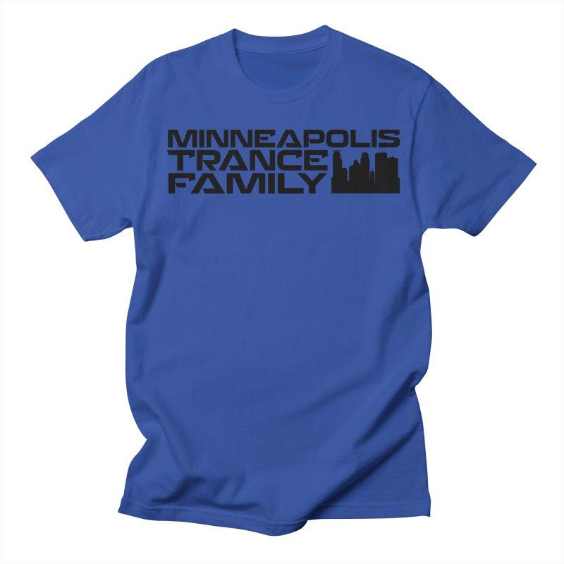 Minneapolis Trance Family Logo Men's Regular T-Shirt by Euphoric Nation's Merch!