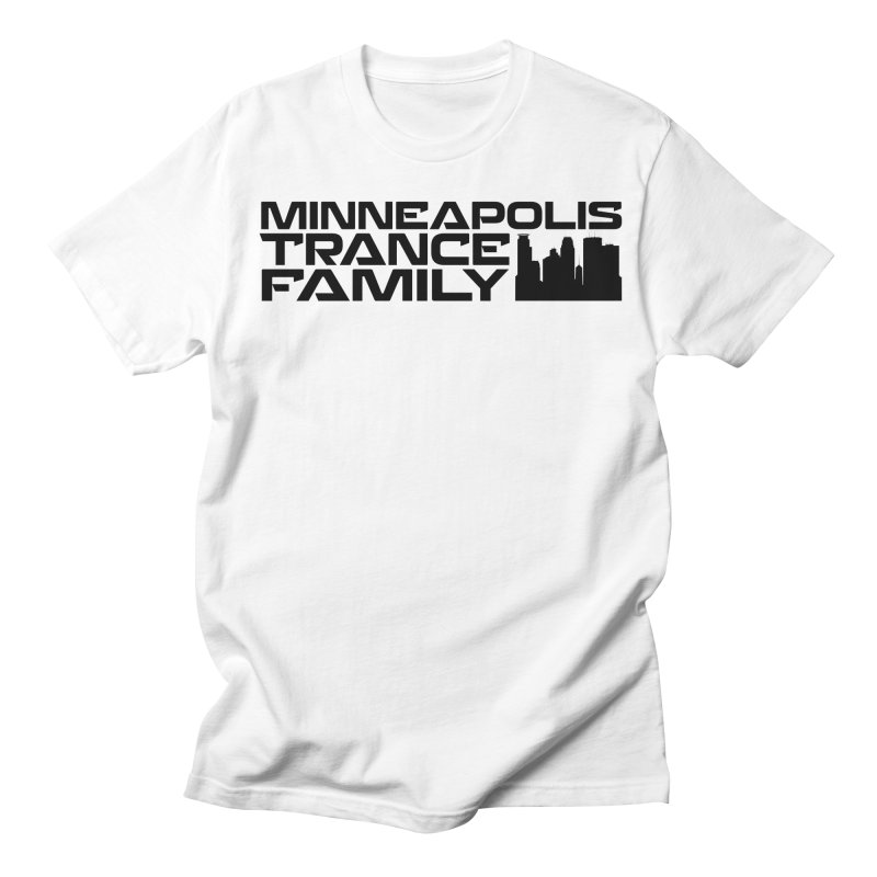 Minneapolis Trance Family Logo Men's Regular T-Shirt by Euphoric Nation's Merch!