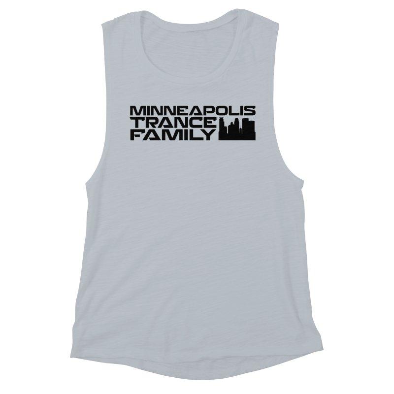 Minneapolis Trance Family Logo Women's Muscle Tank by Euphoric Nation's Merch!