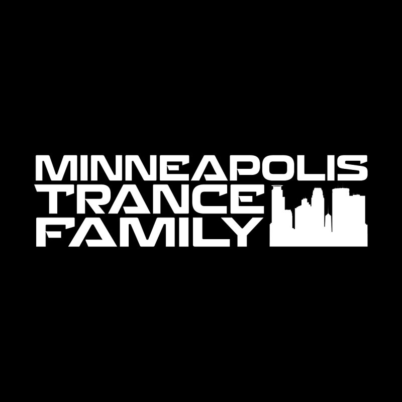 Minneapolis Trance Family - White Men's Zip-Up Hoody by Euphoric Nation's Merch!