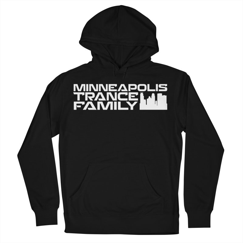 Minneapolis Trance Family - White Women's French Terry Pullover Hoody by Euphoric Nation's Merch!