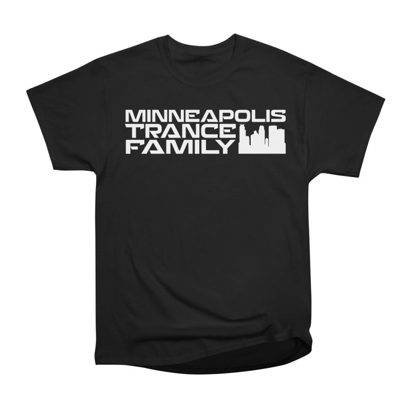 Minneapolis Trance Family - White Men's Heavyweight T-Shirt by Euphoric Nation's Merch!