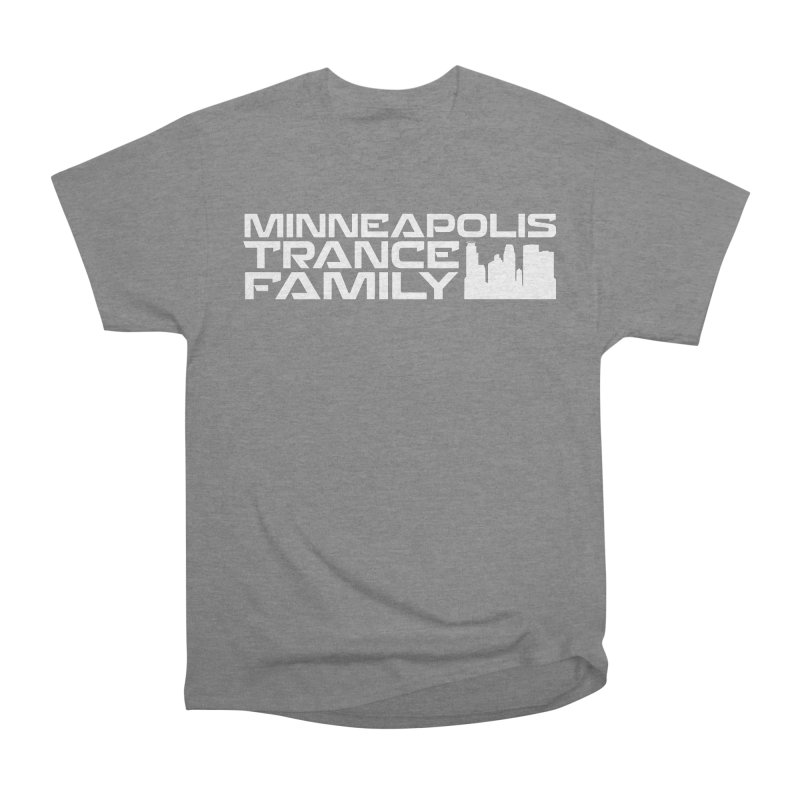 Minneapolis Trance Family - White Men's Heavyweight T-Shirt by Euphoric Nation's Merch!
