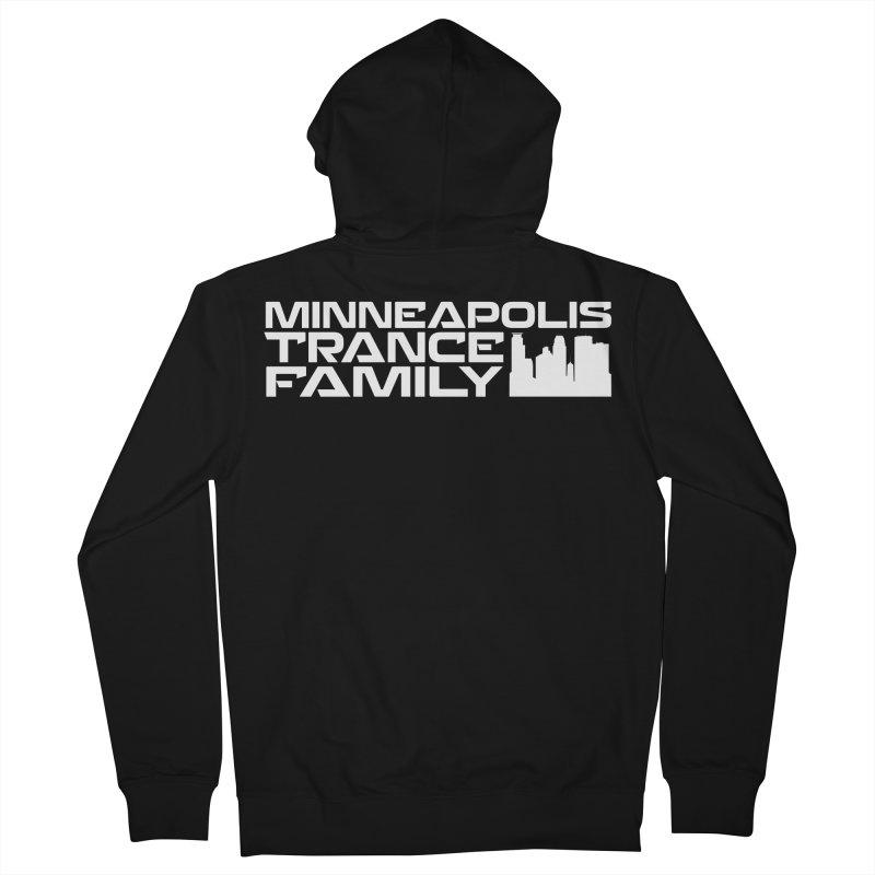 Minneapolis Trance Family - White Women's Zip-Up Hoody by Euphoric Nation's Merch!