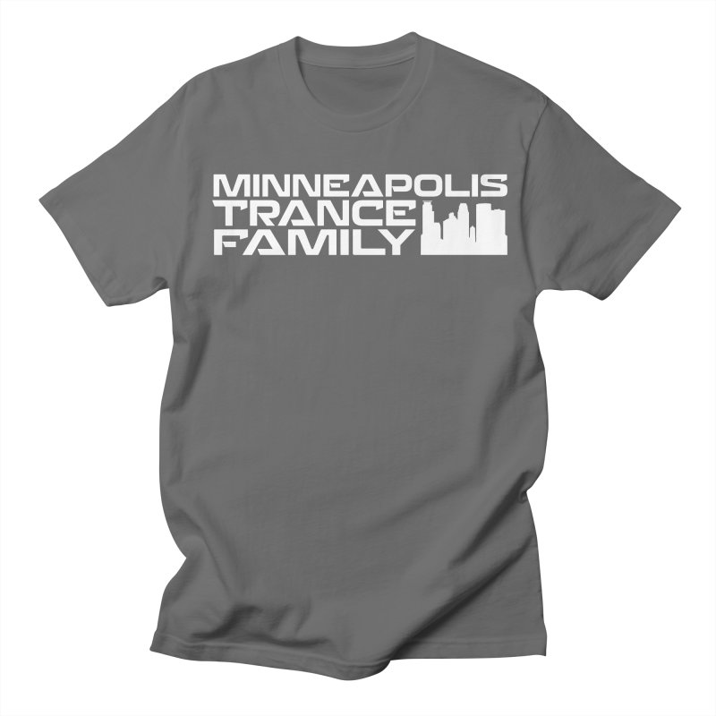 Minneapolis Trance Family - White Women's Regular Unisex T-Shirt by Euphoric Nation's Merch!