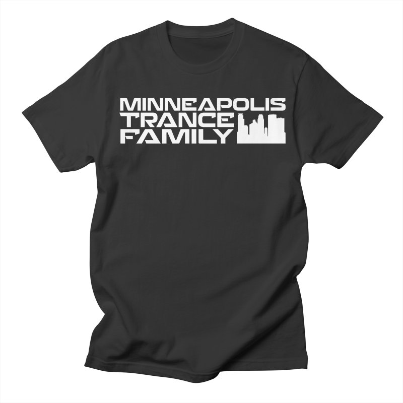 Minneapolis Trance Family - White Men's Regular T-Shirt by Euphoric Nation's Merch!