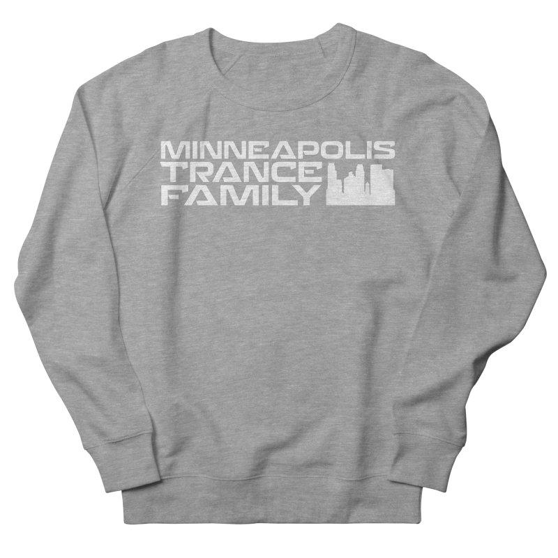 Minneapolis Trance Family - White Women's French Terry Sweatshirt by Euphoric Nation's Merch!