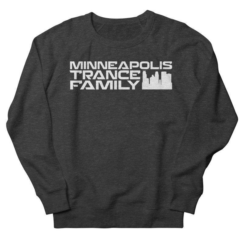 Minneapolis Trance Family - White Men's French Terry Sweatshirt by Euphoric Nation's Merch!