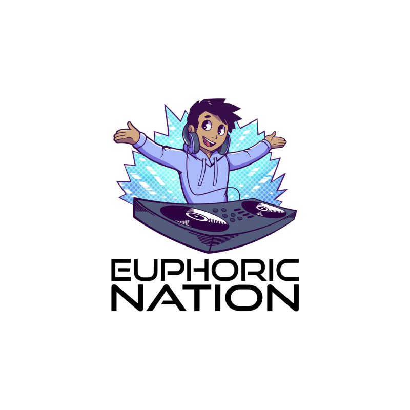 Hands Out Trance Out! Women's Zip-Up Hoody by Euphoric Nation's Merch!