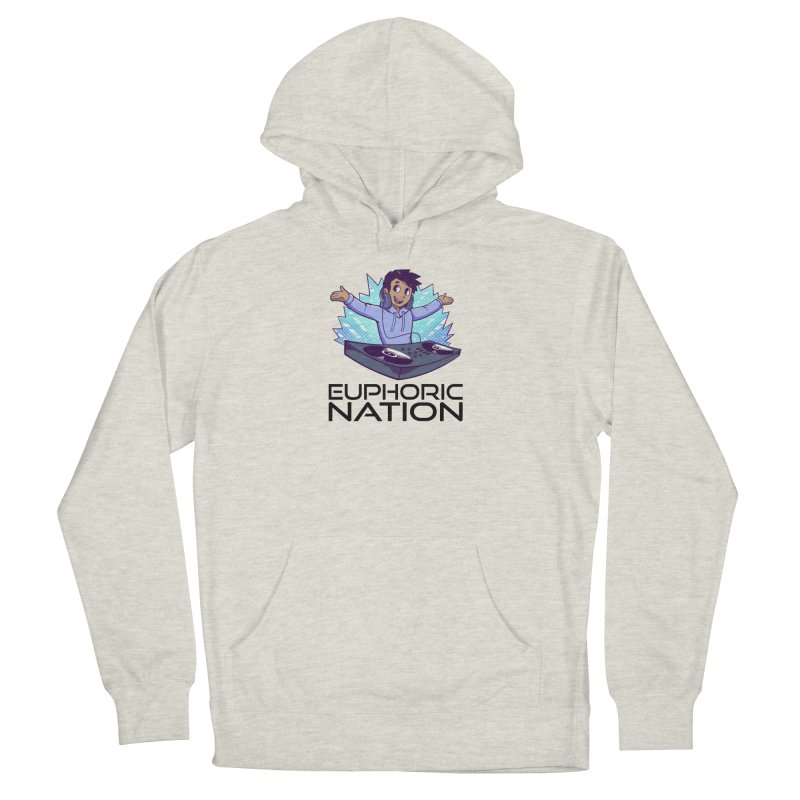 Hands Out Trance Out! Women's Pullover Hoody by Euphoric Nation's Merch!