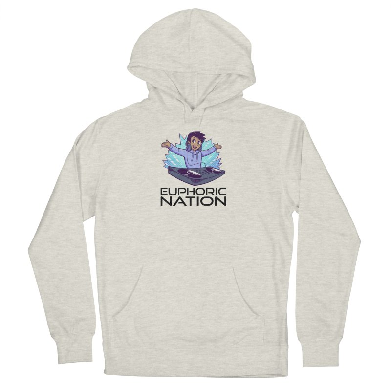 Hands Out Trance Out! Men's French Terry Pullover Hoody by Euphoric Nation's Merch!