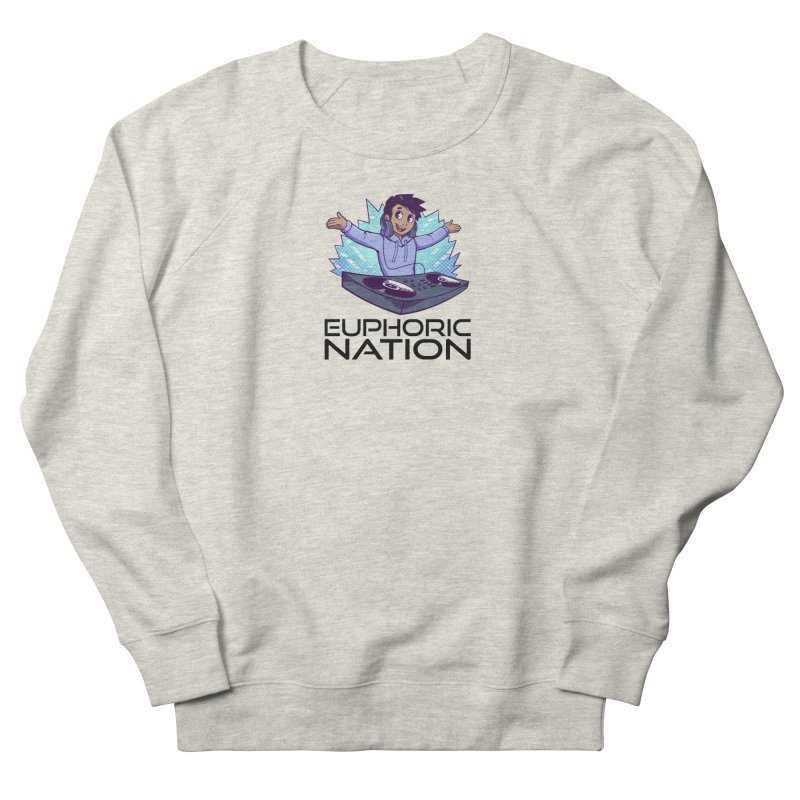 Hands Out Trance Out! Men's French Terry Sweatshirt by Euphoric Nation's Merch!