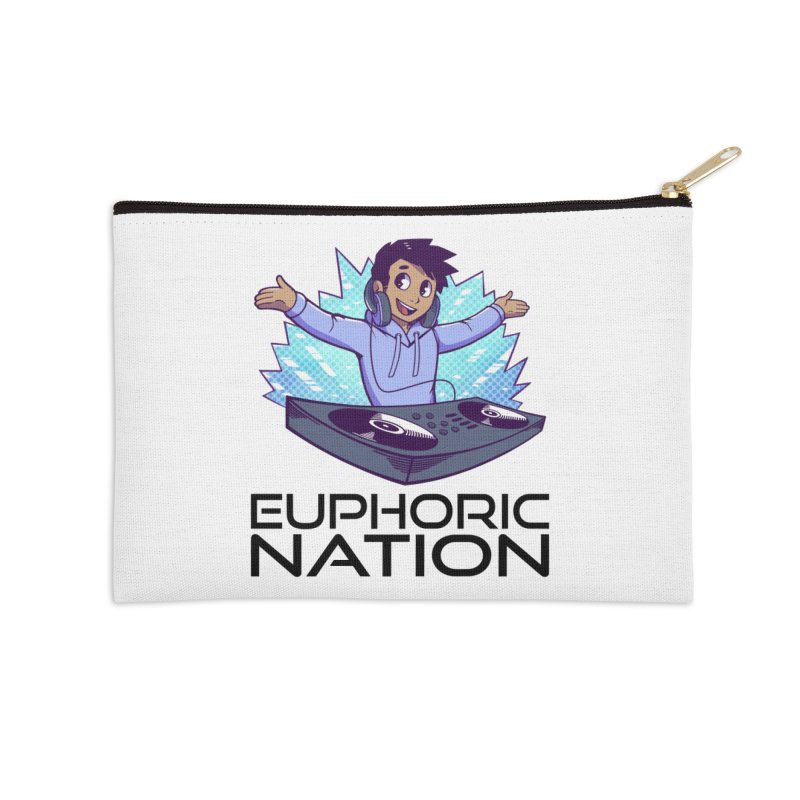 Hands Out Trance Out! Accessories Zip Pouch by Euphoric Nation's Merch!