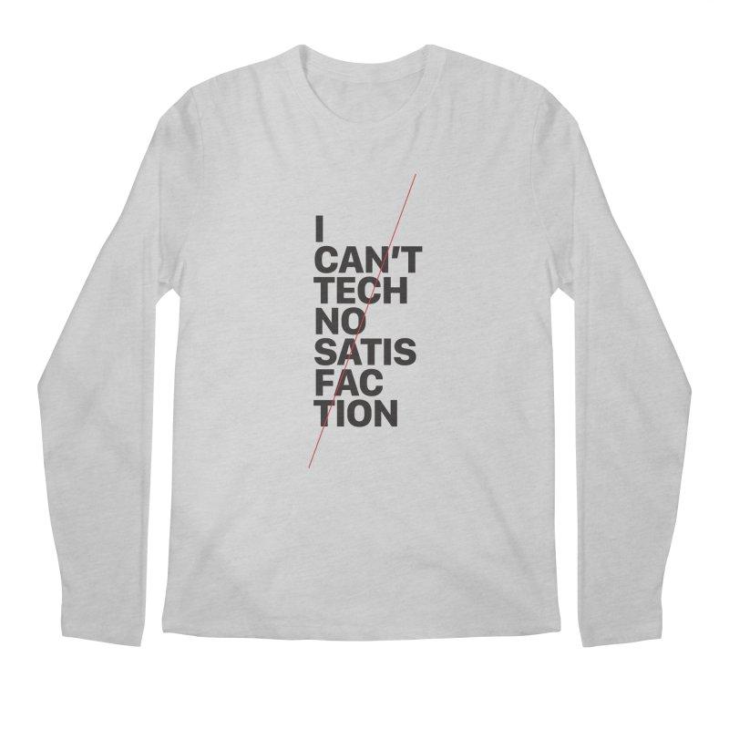 Satisfaction Men's Longsleeve T-Shirt by euphospug