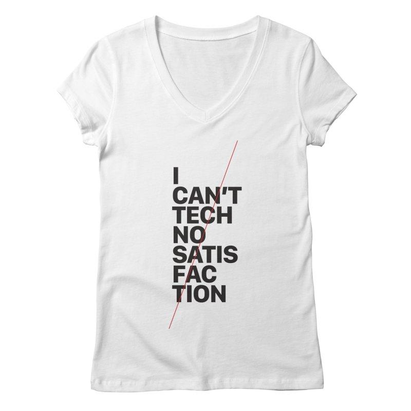 Satisfaction Women's V-Neck by euphospug