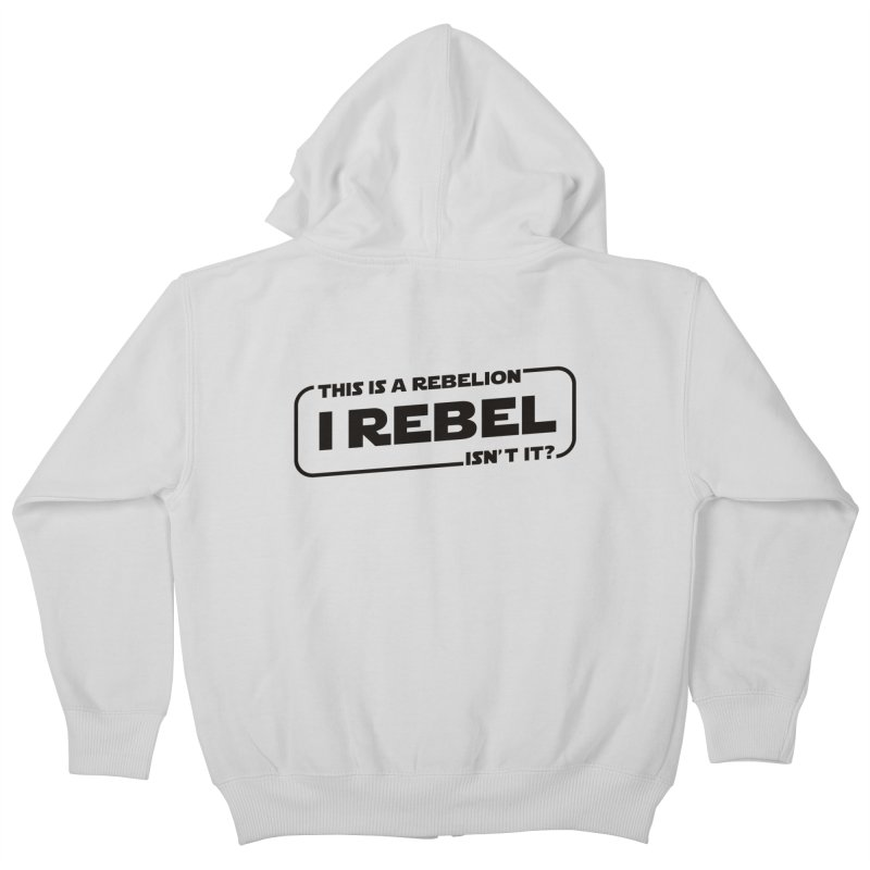 I Rebel Kids Zip-Up Hoody by euphospug