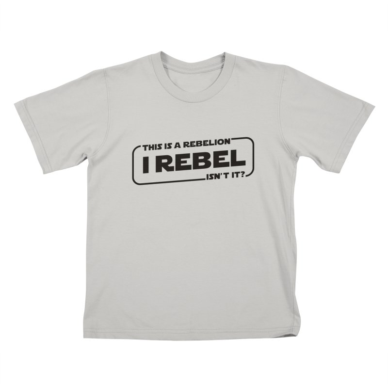 I Rebel Kids T-shirt by euphospug