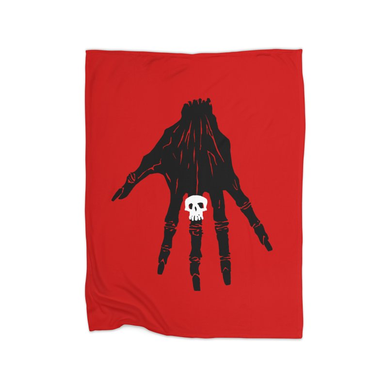TheBlackHand Home Blanket by euphospug