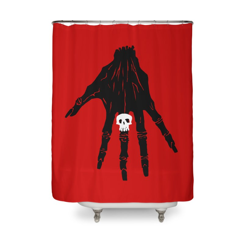 TheBlackHand Home Shower Curtain by euphospug