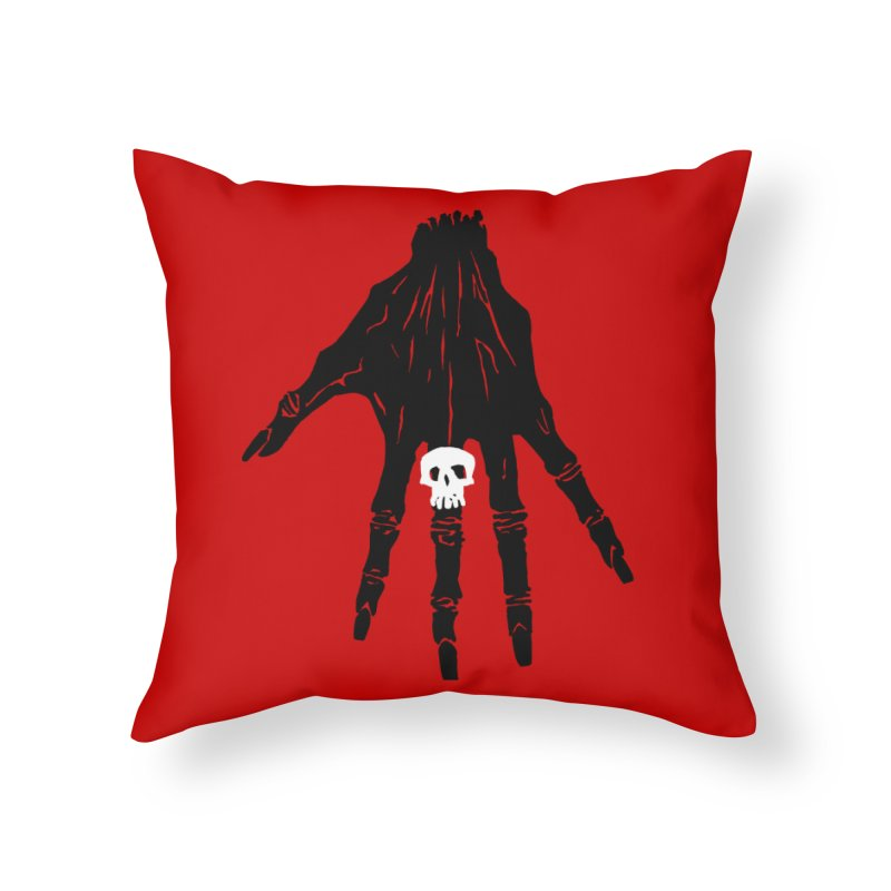 TheBlackHand Home Throw Pillow by euphospug