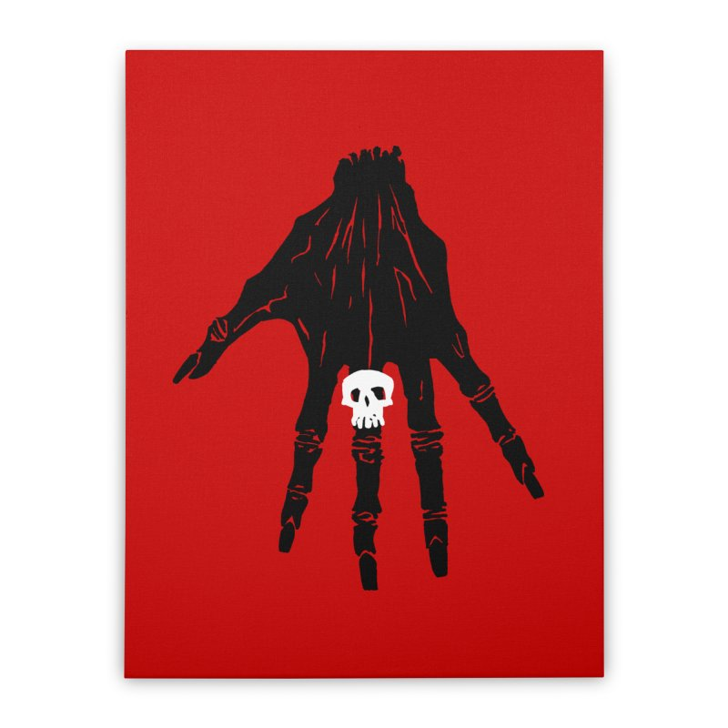 TheBlackHand Home Stretched Canvas by euphospug