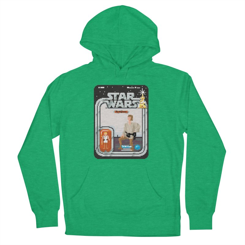 May the Pixels be With You... Always Women's Pullover Hoody by euphospug