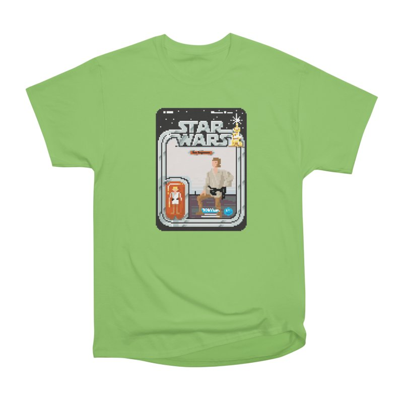 May the Pixels be With You... Always Men's Heavyweight T-Shirt by euphospug