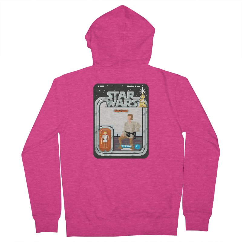 May the Pixels be With You... Always Women's Zip-Up Hoody by euphospug